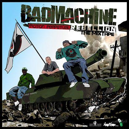 Badmachine - Mixtape Cover