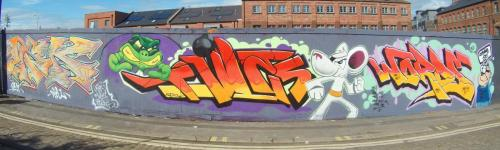 DANGER MOUSE GRAFFITI