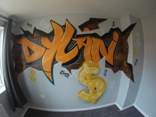 Dylan Graffiti Bedroom