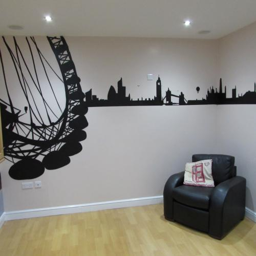 London Theme Wall Art