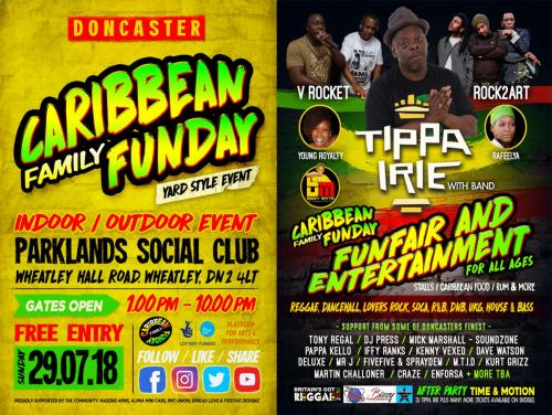 Caribbean Funday Flyer